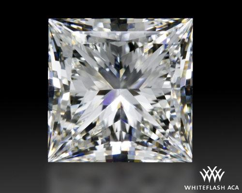 1.512 ct H SI1 A CUT ABOVE® Princess Super Ideal Cut Diamond
