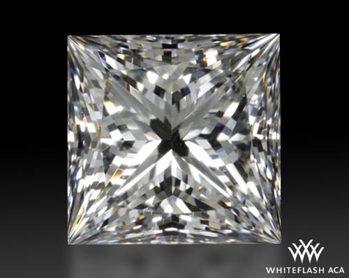1.326 ct G VS1 A CUT ABOVE® Princess Super Ideal Cut Diamond