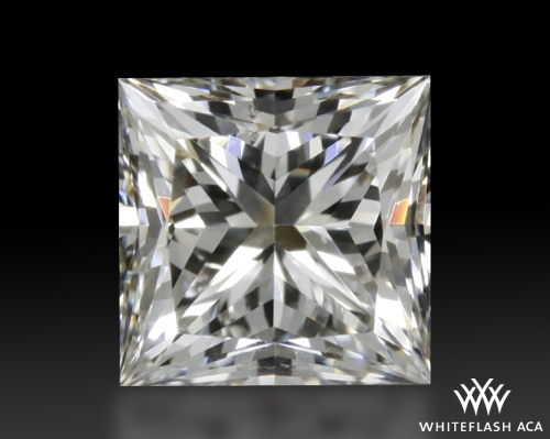 0.702 ct H SI1 A CUT ABOVE® Princess Super Ideal Cut Diamond