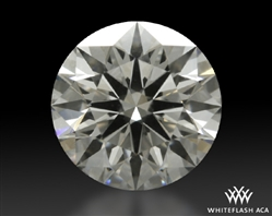 1.123 ct H SI1 A CUT ABOVE® Hearts and Arrows Super Ideal Round Cut Loose Diamond