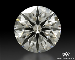 1.006 ct G VS1 A CUT ABOVE® Hearts and Arrows Super Ideal Round Cut Loose Diamond