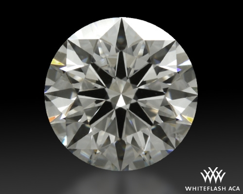 1.078 ct G SI1 A CUT ABOVE® Hearts and Arrows Super Ideal Round Cut Loose Diamond