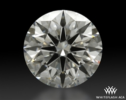 1.027 ct H SI1 A CUT ABOVE® Hearts and Arrows Super Ideal Round Cut Loose Diamond