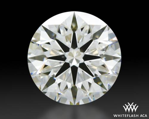 1.017 ct H SI1 A CUT ABOVE® Hearts and Arrows Super Ideal Round Cut Loose Diamond