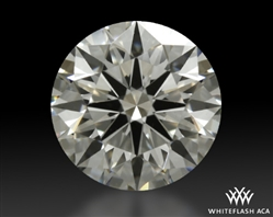 1.008 ct H VS2 A CUT ABOVE® Hearts and Arrows Super Ideal Round Cut Loose Diamond