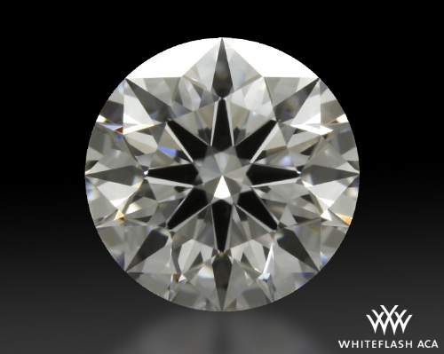 0.727 ct E VS1 A CUT ABOVE® Hearts and Arrows Super Ideal Round Cut Loose Diamond