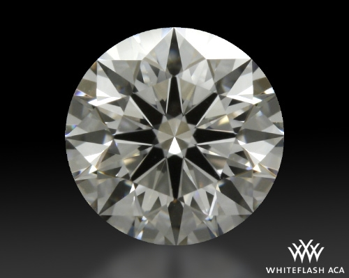 0.707 ct F VS1 A CUT ABOVE® Hearts and Arrows Super Ideal Round Cut Loose Diamond