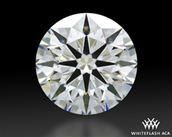 0.714 ct F VS1 A CUT ABOVE® Hearts and Arrows Super Ideal Round Cut Loose Diamond
