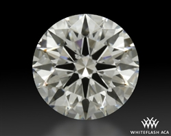 0.71 ct H SI1 A CUT ABOVE® Hearts and Arrows Super Ideal Round Cut Loose Diamond