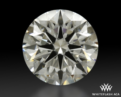 0.704 ct H VS2 A CUT ABOVE® Hearts and Arrows Super Ideal Round Cut Loose Diamond