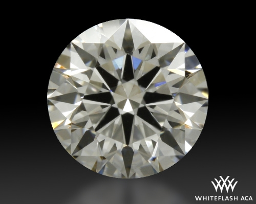 0.705 ct H VS2 A CUT ABOVE® Hearts and Arrows Super Ideal Round Cut Loose Diamond