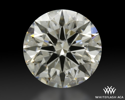 0.713 ct H VS2 A CUT ABOVE® Hearts and Arrows Super Ideal Round Cut Loose Diamond