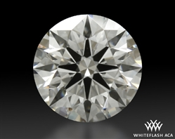 0.753 ct H VS2 A CUT ABOVE® Hearts and Arrows Super Ideal Round Cut Loose Diamond