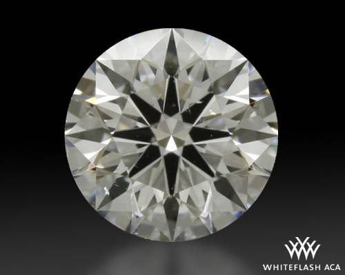 0.747 ct G SI1 A CUT ABOVE® Hearts and Arrows Super Ideal Round Cut Loose Diamond