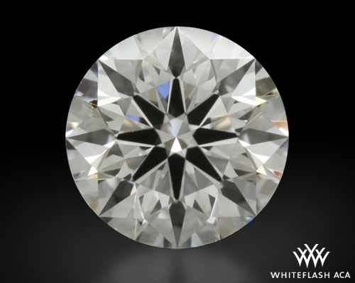 0.711 ct H VS1 A CUT ABOVE® Hearts and Arrows Super Ideal Round Cut Loose Diamond