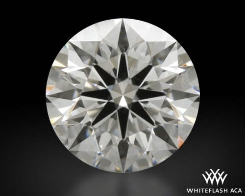 0.724 ct G VS1 A CUT ABOVE® Hearts and Arrows Super Ideal Round Cut Loose Diamond