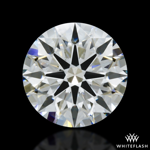 0.755 ct F SI1 A CUT ABOVE® Hearts and Arrows Super Ideal Round Cut Loose Diamond