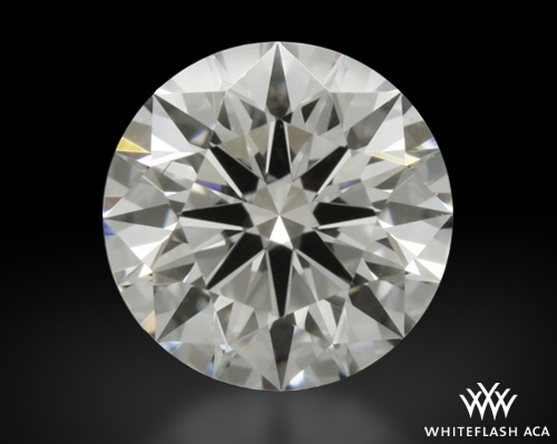 0.734 ct G VS2 A CUT ABOVE® Hearts and Arrows Super Ideal Round Cut Loose Diamond