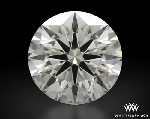 0.715 ct F SI1 A CUT ABOVE® Hearts and Arrows Super Ideal Round Cut Loose Diamond