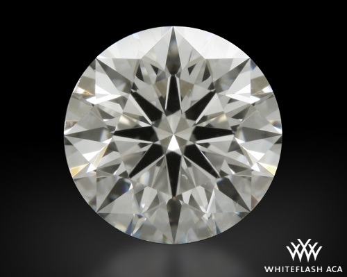0.707 ct G VS2 A CUT ABOVE® Hearts and Arrows Super Ideal Round Cut Loose Diamond