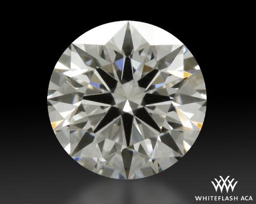 0.72 ct H VS1 A CUT ABOVE® Hearts and Arrows Super Ideal Round Cut Loose Diamond