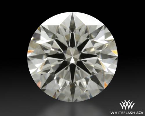 0.706 ct H VS2 A CUT ABOVE® Hearts and Arrows Super Ideal Round Cut Loose Diamond