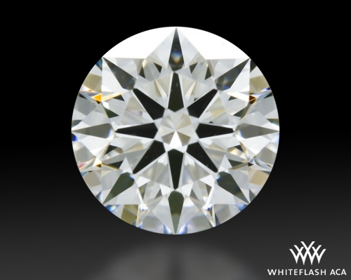 0.70 ct H VS1 A CUT ABOVE® Hearts and Arrows Super Ideal Round Cut Loose Diamond