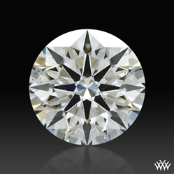 0.741 ct I VS2 A CUT ABOVE® Hearts and Arrows Super Ideal Round Cut Loose Diamond