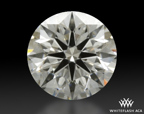0.607 ct G VS1 A CUT ABOVE® Hearts and Arrows Super Ideal Round Cut Loose Diamond