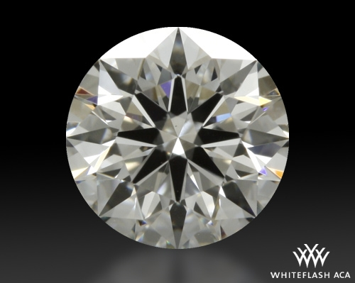 0.632 ct F VS1 A CUT ABOVE® Hearts and Arrows Super Ideal Round Cut Loose Diamond