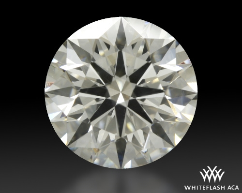 1.243 ct I SI1 A CUT ABOVE® Hearts and Arrows Super Ideal Round Cut Loose Diamond