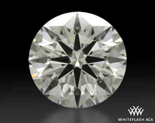 1.238 ct H VS2 A CUT ABOVE® Hearts and Arrows Super Ideal Round Cut Loose Diamond