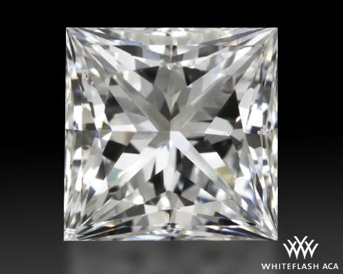 0.752 ct G SI1 A CUT ABOVE® Princess Super Ideal Cut Diamond