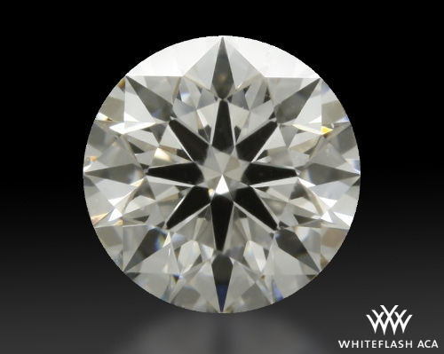 0.632 ct H VS1 A CUT ABOVE® Hearts and Arrows Super Ideal Round Cut Loose Diamond