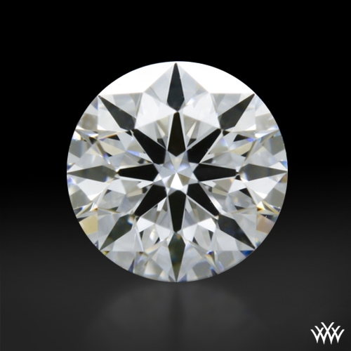 0.305 ct D VS2 A CUT ABOVE® Hearts and Arrows Super Ideal Round Cut Loose Diamond