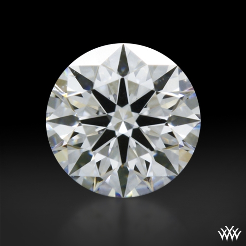0.322 ct D VS1 A CUT ABOVE® Hearts and Arrows Super Ideal Round Cut Loose Diamond
