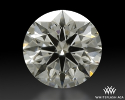 0.343 ct I VS1 A CUT ABOVE® Hearts and Arrows Super Ideal Round Cut Loose Diamond