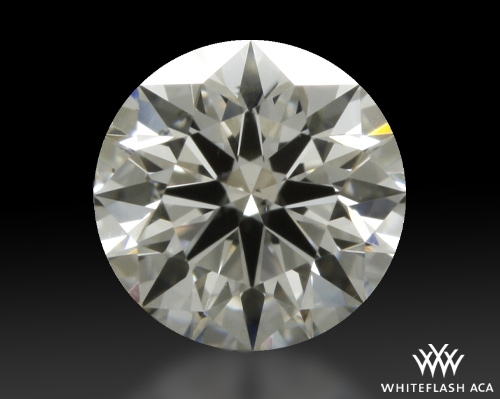 0.603 ct H SI1 A CUT ABOVE® Hearts and Arrows Super Ideal Round Cut Loose Diamond