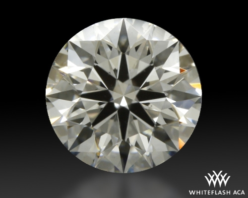 0.611 ct H VS1 A CUT ABOVE® Hearts and Arrows Super Ideal Round Cut Loose Diamond