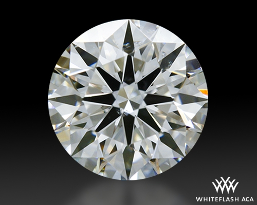 0.636 ct E SI1 A CUT ABOVE® Hearts and Arrows Super Ideal Round Cut Loose Diamond
