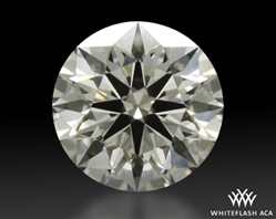 0.645 ct I SI1 A CUT ABOVE® Hearts and Arrows Super Ideal Round Cut Loose Diamond