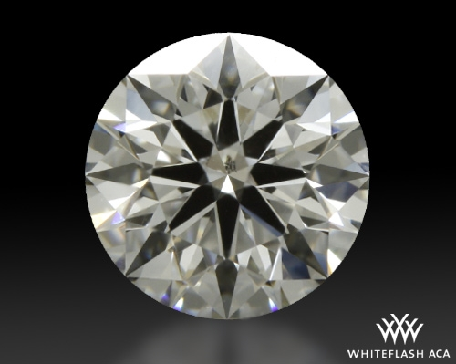 0.845 ct F SI1 A CUT ABOVE® Hearts and Arrows Super Ideal Round Cut Loose Diamond