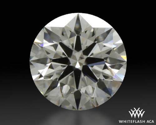 0.841 ct G VS2 A CUT ABOVE® Hearts and Arrows Super Ideal Round Cut Loose Diamond