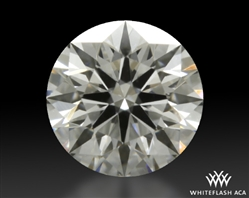 0.322 ct D VVS1 A CUT ABOVE® Hearts and Arrows Super Ideal Round Cut Loose Diamond