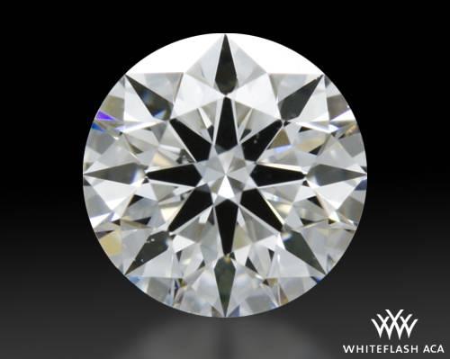 0.334 ct E VVS1 A CUT ABOVE® Hearts and Arrows Super Ideal Round Cut Loose Diamond