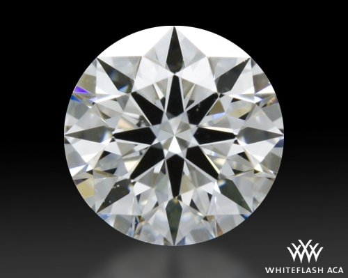 0.334 ct E VVS1 A CUT ABOVE® Hearts and Arrows Super Ideal Round Cut Loose Diamond