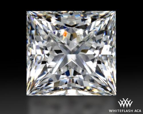 1.327 ct H VS2 A CUT ABOVE® Princess Super Ideal Cut Diamond