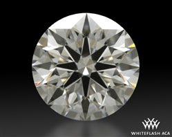 0.82 ct F VS1 A CUT ABOVE® Hearts and Arrows Super Ideal Round Cut Loose Diamond