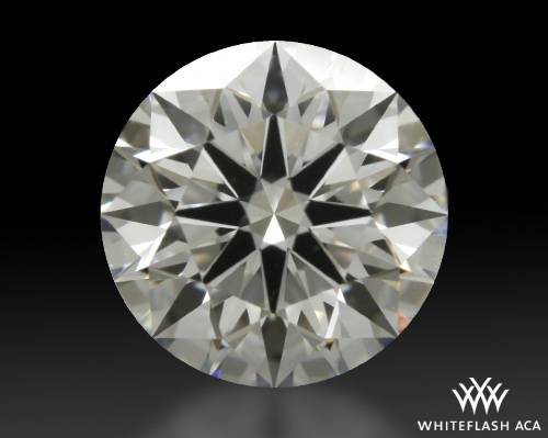 0.842 ct F VVS2 A CUT ABOVE® Hearts and Arrows Super Ideal Round Cut Loose Diamond