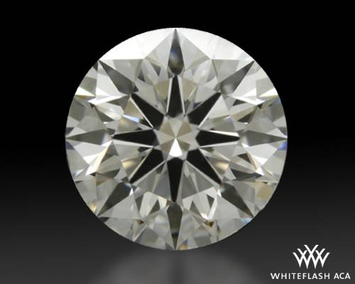 0.897 ct G VS1 A CUT ABOVE® Hearts and Arrows Super Ideal Round Cut Loose Diamond